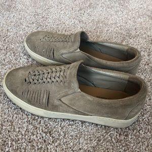 Belle Sigerson Morrison Sneaker Slides Suede 6.5